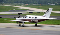 N349SE @ PDK - Taxing back from flight - by Michael Martin