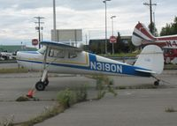 N3190N @ ANC - General Aviation Parking area at Anchorage International - by Timothy Aanerud