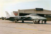 162693 @ CID - F-14B visiting - by Glenn E. Chatfield