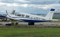 G-AZDJ @ EGFF - Piper Pa-32-300