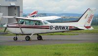 G-BRWX @ EGFF - Cessna 172P
