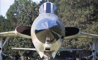 61-0176 @ MXF - An unusual view of an F-105 - by Glenn E. Chatfield