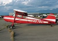 N4576C @ ANC - General Aviation Parking area at Anchorage International - by Timothy Aanerud