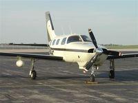 N785HC @ KANSAS CIT - Now flying in Europe - by PP