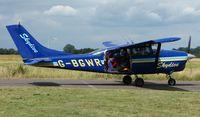 G-BGWR - photo taken at Tilstock Airfield , Shropshire , UK