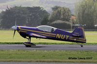 ZK-NUT @ NZAR - state-of-the-art aerobatic mount - by Peter Lewis
