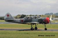 ZK-YAC @ NZAR - aerobatic mount - by Peter Lewis