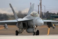 165678 @ NJK - F/A-18F Super Hornet AD-207 with VFA-106 Gladiators taxis onto RWY 30 for departure on a training mission at NAF El Centro. - by Dean Heald