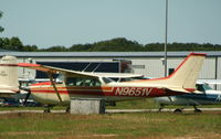 N9651V @ HWV - On the ramp at Brookhaven...
