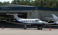 N505P @ HPN - On the ramp at Westchester...