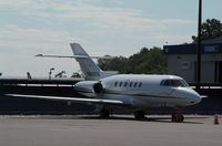 N808TA @ HPN - On the ramp at Westchester...