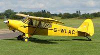 G-WLAC @ EGLM - Pa-18-150