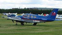 G-BNUN @ EGLM - Beech 58 Trainer for British Midland Airline