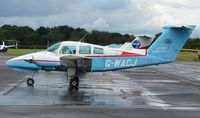 G-WACJ @ EGTB - Beech 76 Trainer - by Terry Fletcher