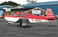 G-MUNI @ EGTB - Mooney M20J