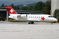 HB-JRA @ KLU - Ambulance flight to Klagenfurt - by A. Prokop