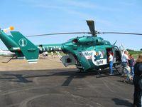 N117MK @ LHQ - Air ambulance at Wings of Victory Airshow - Lancaster, OH - by Bob Simmermon