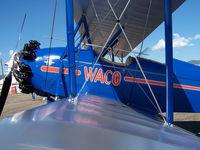 N662Y @ KBDU - Waco on display at Boulder Open House - by Bluedharma
