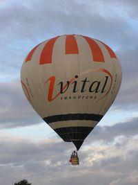 G-VITL - Lindstrand balloon at Northampton - by Simon Palmer
