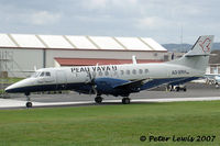 A3-XRH @ NZAR - Jetstream ex ZK-JSM - by Peter Lewis