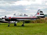 G-CBMI @ EGBM - Yakolev Yak 52 - by Robert Beaver