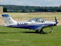 G-LLOY @ EGBO - Pioneer 300 Hawk - by Robert Beaver