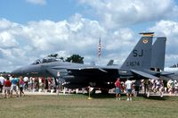 88-1674 @ OSH - F-15E at the EAA Fly In - by Glenn E. Chatfield