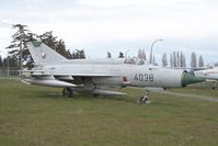 4038 @ CYQQ - Czech Air Force MIG21 - by Andy Graf-VAP