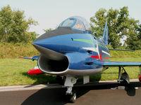 MM6241 @ LIPI - Fiat G-91 PAN/Preserved (Frecce Tricolori colours)Rivolto-Udine - by Ian Woodcock