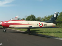 MM19685 @ LIPI - Canadair CL-13A/Preserved/Rivolto-Udine - by Ian Woodcock