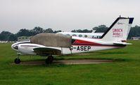 G-ASEP @ EGLD - Piper PA-23-235