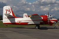 C-FEFX @ CYXX - Conair Conair Firecat - by Andy Graf-VAP