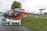 C-GIFZ @ CYPK - Prism Helicopters Hughes 369 - by Andy Graf-VAP