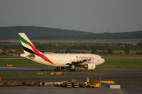 A6-EFB @ LOWW - Emirates Cargo A310 - by AndiF