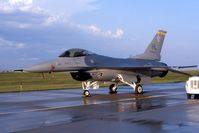 88-0419 @ CID - F-16C for an open house - by Glenn E. Chatfield