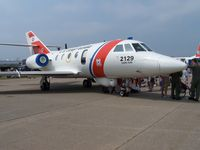 2129 @ FMH - 2129 US Coast Guard on display at the OTIS ANGB show - by Geoff Cook