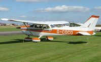 G-COCO @ EGBR - Cessna F172M at Breighton UK