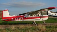 G-ASMS @ EGCS - Cessna 150A
