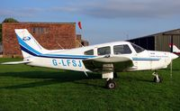 G-LFSJ @ EGCS - Piper Pa-28-161