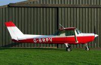 G-BRPV @ EGCS - Cessna 152 - by Terry Fletcher