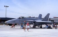 164627 @ ARR - F/A-18C at the open house - by Glenn E. Chatfield
