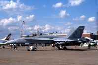 164711 @ DVN - F/A-18D  at the Quad Cities Air Show - by Glenn E. Chatfield
