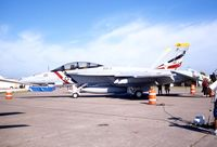 165917 @ DVN - F/A-18F at the Quad Cities Air Show - by Glenn E. Chatfield
