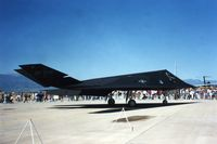 86-0822 @ COS - F-117A at Peterson AFB open house. - by Harry Chatfield via Glenn E. Chatfield