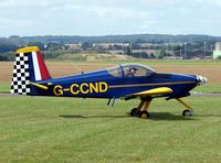 G-CCND @ EGCJ - 2007 PFA Regional Rally at Sherburn , Yorkshire , UK - by Terry Fletcher