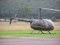 G-TGDL @ EGBW - R44 at Wellesbourne - by Simon Palmer
