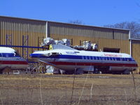 N235AE - Being scrapped? in Mansfield, Texas  @ 2007