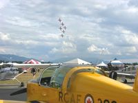 C-GFXH @ CYXX - On Display at the Abbotsford Airshow - by Barneydhc82
