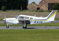 G-BAIH @ EGNW - Take off from Wickenby airfield