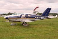 G-DAND @ EGLD - Registered Owner: PORTWAY AVIATION LTD - by Clive Glaister